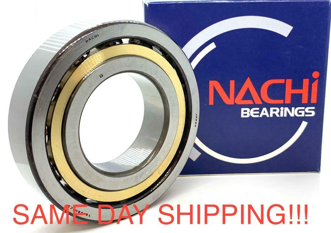 7208BMU Nachi Angular Contact Bearing Made in Japan
