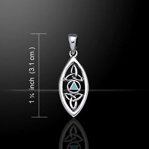 Tree of Life .925 Sterling Silver Pendant Choice of Gemstone Peter Stone