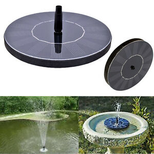 image is loading - Solar Powered Fountain