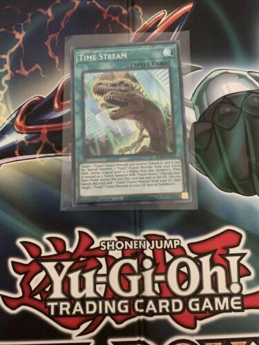 Secret Rare YuGiOh Time Stream BLAR-EN012 1st Edition Near Mint