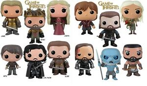 Game Of Thrones Pop Figure 30 Designs To Choose From