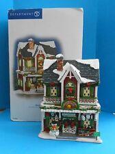 Dept 56 Snow Village Christmas Crafts Cottage Lighted House Shop