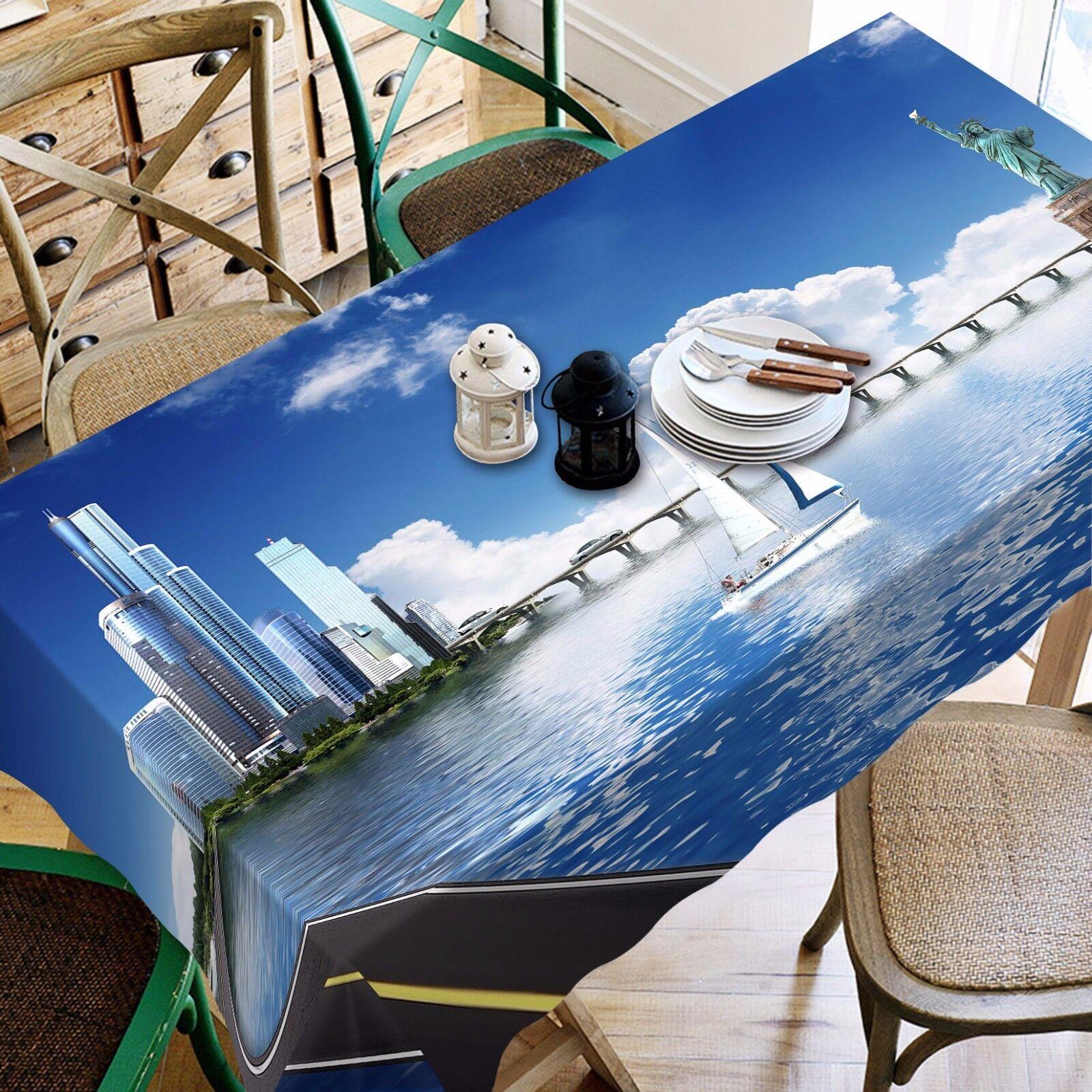 3D Ciel Bleu 88 Nappe Table Cover Cloth Fête D'Anniversaire événement AJ papier peint UK