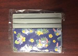 Loungefly Disney Lilo /& Stitch Frog Cardholder ID Card Slim Wallet w Coin Purse