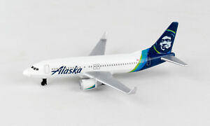 Daron Realtoy Rt3994 1 Alaska Airlines New Livery Single Plane Diecast New Ebay