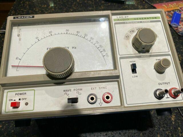 Leader Audio Generator Lag 120 B For Sale Online Ebay