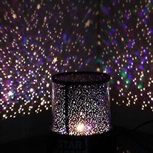 sensory liquid star light projector relax calming autism night lamp