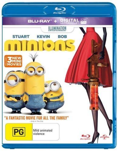 1 of 1 - Minions (Blu-ray, 2015) NEW