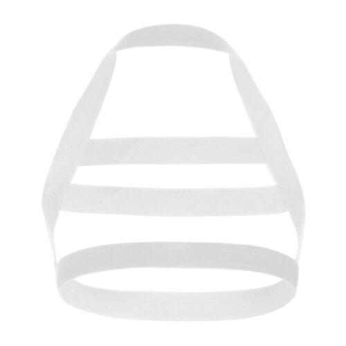 US Men/'s Body Chest Harness Elastic Nylon Lingerie Shoulder Strap Belt Cosplay