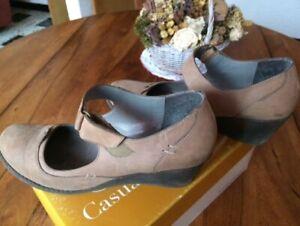 chaussure talon compensé femme