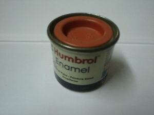 HUMBROL-ENAMEL-PAINT-N-82-MATT-ORANGE-LINING