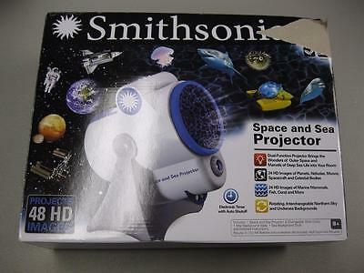 Smithsonian Space and Sea Projector Used