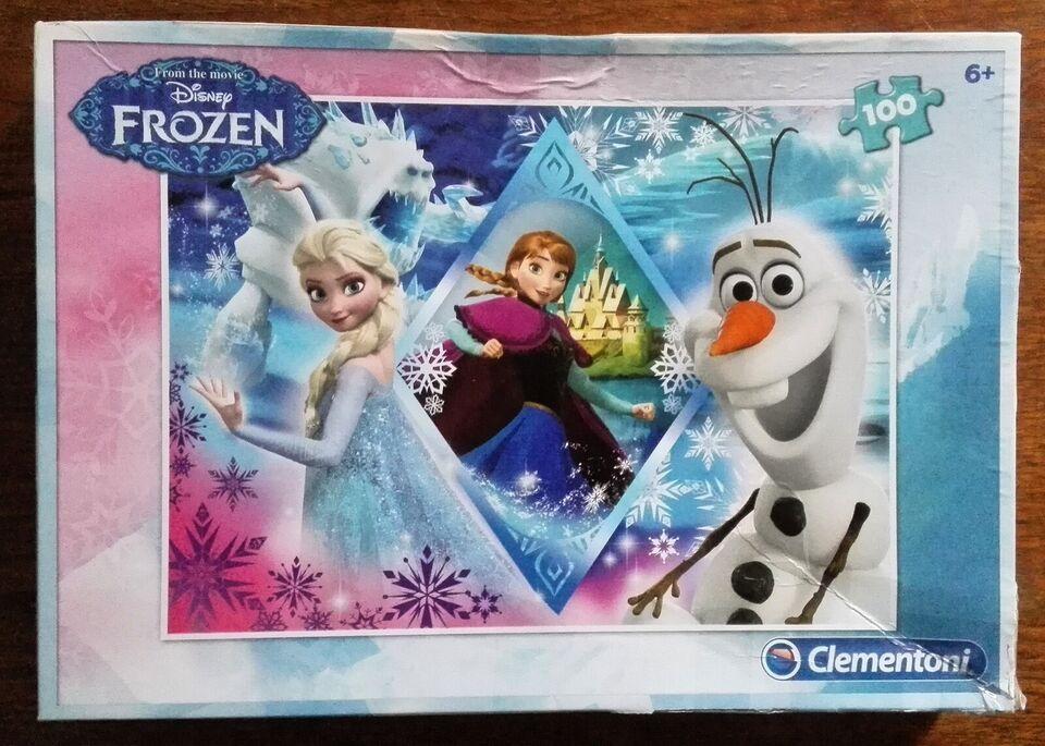 Frozen (Disney), 100 brikkers Clementoni, puslespil