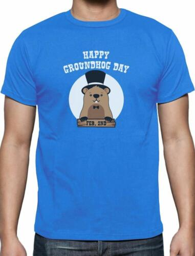 Happy Groundhog Day Groundhog Day T-Shirt Gift Idea