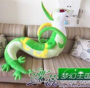 Anime-59-039-039-Cartoon-Plush-Stuffed-Serperior-Toys-Kid-Animal-Character-Gift-Doll
