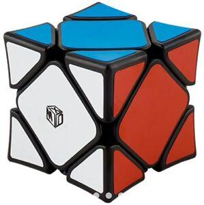 Qiyi-X-man-Wingy-Skewb-Mag-Concave-Rubik-039-s-Cube-Black