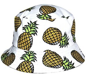 5a9b58dd2 Details about OCTAVE Ladies Mens Adults Unisex Reversible Bucket Hats  Collection