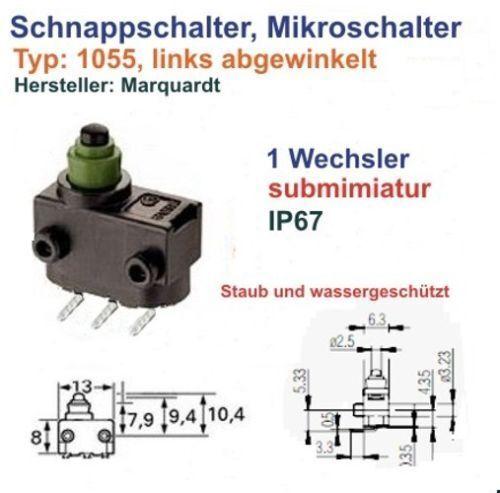 15 x  Mikroschalter-Marquardt Tuerschloss-Audi-und andre AUTOS Zentralverigelung