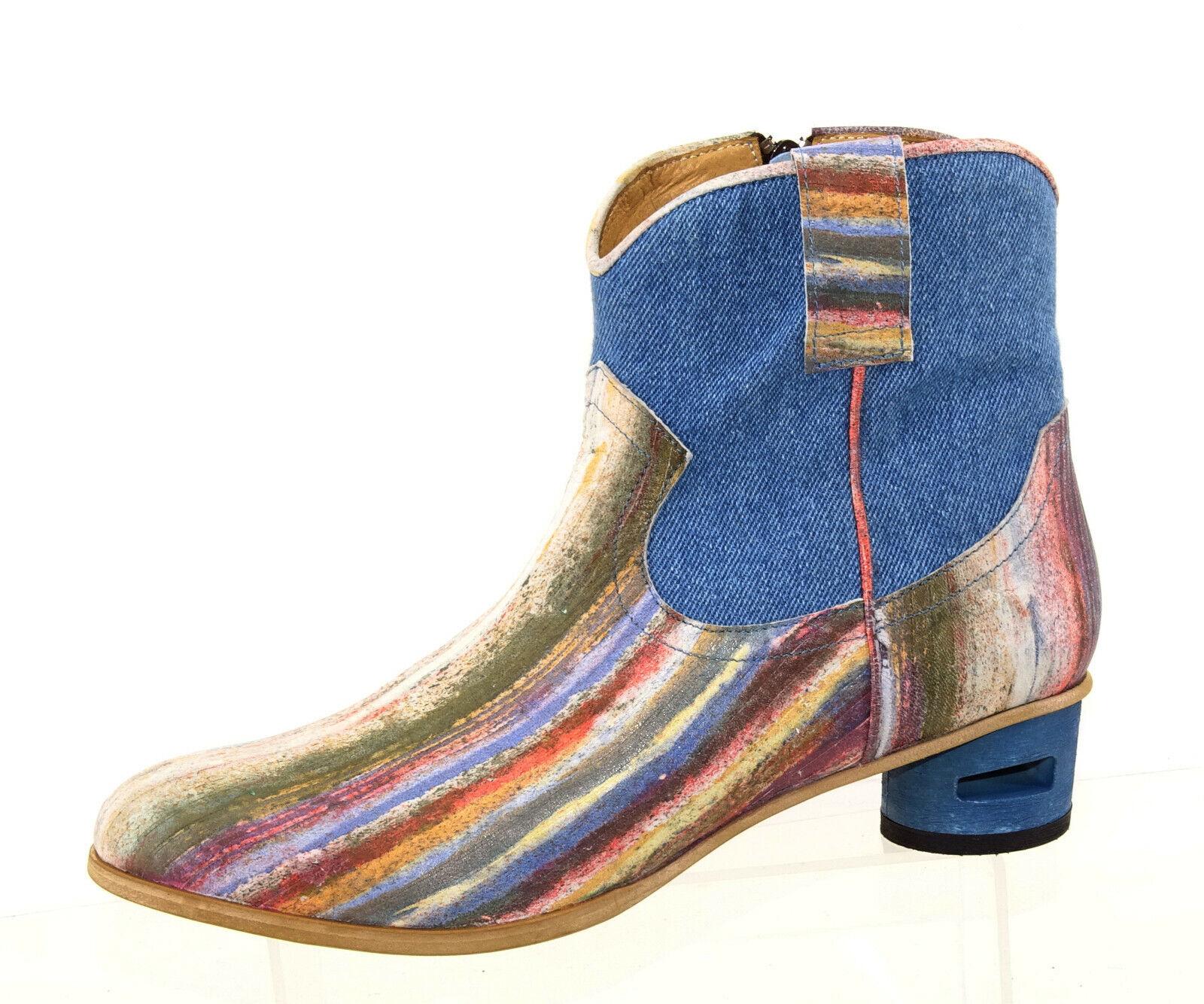 Tiggers Schuhe Winter Stiefel Damenstiefel Stiefeletten Stiefel Leder Gr.40