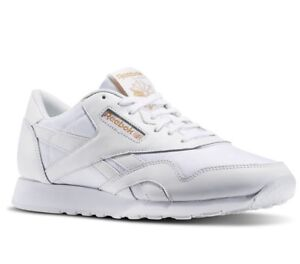 c2a2cb329a5 Reebok Men s Classic Nylon Arch Trainers Running Shoes BD3076 ...