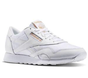 d22928a3bdbf1 Reebok Men's Classic Nylon Arch Trainers Running Shoes BD3076 ...