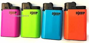 Details about DJEEP large lighter Hot Body Neon colors 12 Pcs