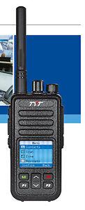 UK STOCK TYT MD-446 UHF 400-480 MHz Ricetrasmettitore Palmare DMR & Cavo di programmazione