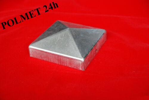 Pfostenabdeckung Pfostenkappe verzinkt Pyramide 100x100mm Nr KK.100-100