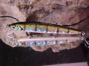 Challenger 4 1//2 Jerk Minnow Lure EG-033F#T10 for Bass//Walleye//Pickerel//Pike