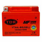 TDR MOTO YTX4LBS 4Ah 12V Motorcycle GEL Battery