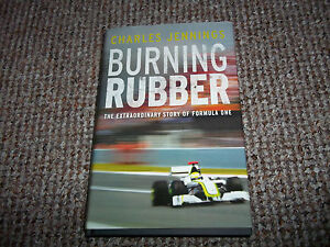 Burning Rubber A Chequered History of Formula 1 by Charles Jennings Hardback - Hartlepool, United Kingdom - Burning Rubber A Chequered History of Formula 1 by Charles Jennings Hardback - Hartlepool, United Kingdom