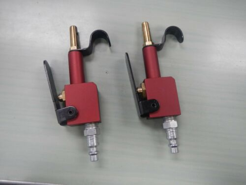 Pneumatic Lever-operated Compressed Air Blow Guns Red Lot of 2 Made in USA