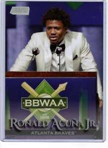 Ronald Acua Jr. 2019 Topps Stadium Club Variations 5x7 #56 /49