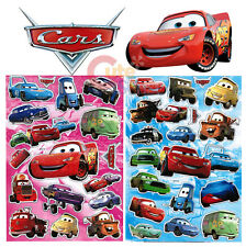 Disney Cars Mcqueen Stickers Set with Pearl - 2 Sheets Wall  Window Stickers