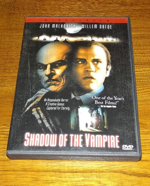Shadow of the Vampire (DVD, 2001) John Malkovich Willem Davoe