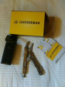 LEATHERMAN, Crunch Multitool with Folding Locking Pliers and Pin Vise NEW