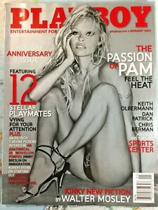 Vintage-January-2007-Playboy-Magazine-Holiday-Anniversary-Issue-Pamela-Anderson
