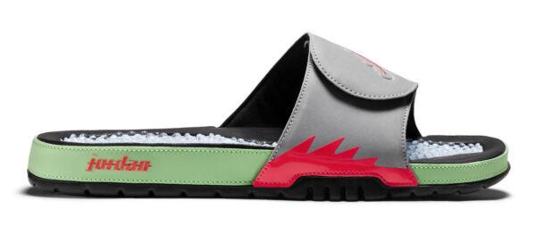 0b635f67711c11 Nike Jordan Hydro V Retro Mens 555501-023 Infrared Sandals