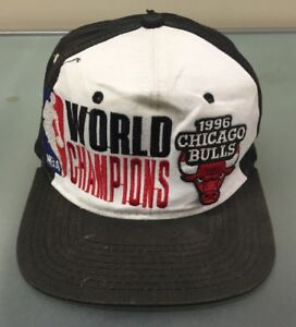 ecc5bdc1acc876 Image is loading Vintage-1996-Chicago-Bulls-NBA-World-Champions-Starter-