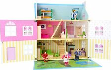 Doll House Luxury Flower Paradise Furniture Included Girls Dream Gift Pretty NEW