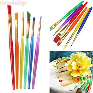 Kits-6PCS-Fondant-Sugarcraft-Brush-Cake-Cookies-Icing-Decorating-Painting-Tools