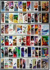 CANADA 1999-2000 Millennium #1818a-34d, set of 68 singles Mint NH
