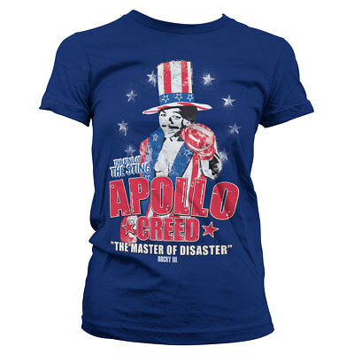 Apollo Creed COUNT OF MONTE FISTO Licensed Women/'s T-Shirt All Sizes