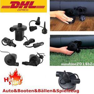 minikompressor kfz auto luftkompressor druckluft luftpumpe 220v mit adapter ebay. Black Bedroom Furniture Sets. Home Design Ideas