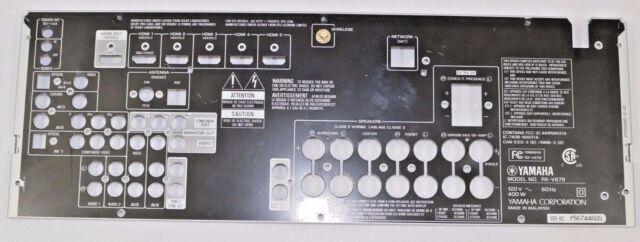 Yamaha Rx V679 72 Channel 150 Watt Receiver