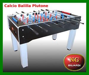 Calcio-Balilla-PLUTONE-vetro-temperato-NG-BILIARDI-CALCETTO-BILIARDINO-NU