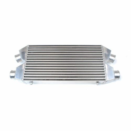 """UNIVERSAL TWIN ALUMINUM TURBO INTERCOOLER FMIC 30X11X3 4-700HP 3/"""" INLET OUTLET"""