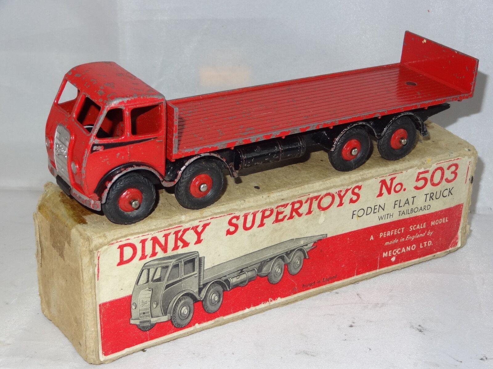 ventas de salida Dinky Foden plana camión Con Rampa Tipo Tipo Tipo 1-muy Raro Color - 503  precios razonables