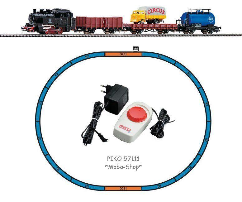 PIKO 57111 start confezione con locomotiva con 3 carri merci  1101