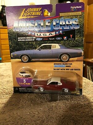 1 64 1973 dodge charger 23 1998 johnny lightning muscle cars u s a 1 64 1973 dodge charger 23 1998 johnny